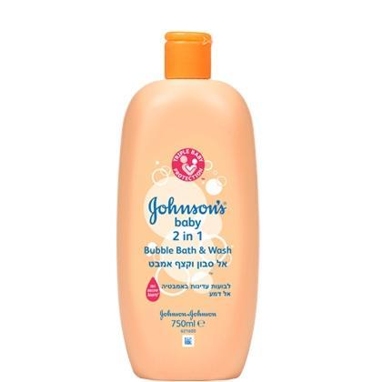 אל סבון וקצף אמבט 2 ב-1 ג'ונסונס® בייבי