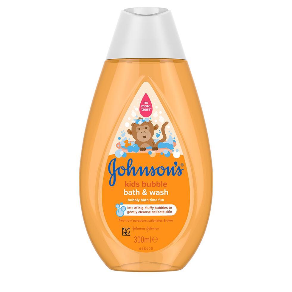 ג'ונסונס® אל סבון וקצף אמבט לילדים